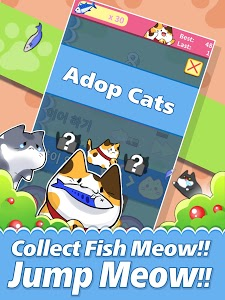 screenshot of Meow Meow Jump version 1.0.17