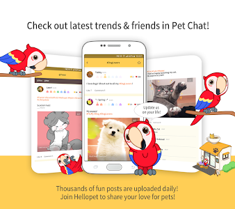 screenshot of Hellopet - Cute cats, dogs and other unique pets version 3.2.17