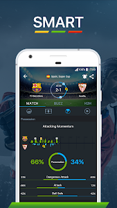 screenshot of 365Scores - Live Scores version 6.0.5