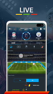 screenshot of 365Scores - Live Scores and Sports News version Varies with device