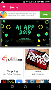 screenshot of A1 App 2019 - Tools, Shopping,News,Food & More version 1.0