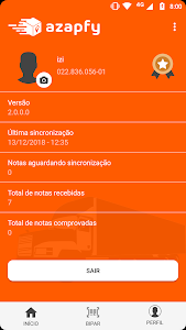 screenshot of AZAPFY MOTORISTAS - Comprovação de entregas version 2.0.1.2