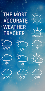 screenshot of AccuWeather: Weather forecast news & live radar version Varies with device