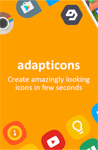 screenshot of Adapticons version 1.2.1