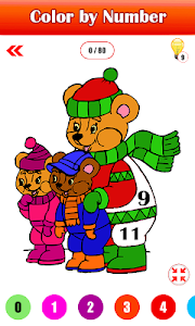 screenshot of Adult Christmas Color By Number - Paint By Number version 1.3
