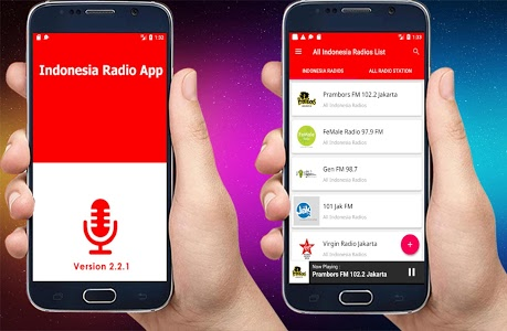 screenshot of All Indonesia Radios - Radio Indonesia - FM Radio version 2.1.2