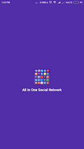 screenshot of All in one social media network pro version 2.6