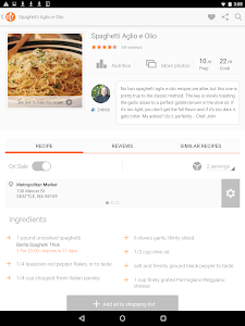 screenshot of Allrecipes Dinner Spinner version Varies with device