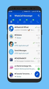 screenshot of WhatsCall Messenger : Chat, VoiceCall - 2019 version 1.0.7