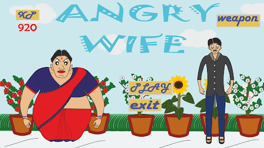 screenshot of Angry Wife version 1.0