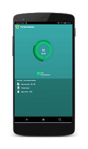 screenshot of Antivirus Pro for Android™ version 1.4.1