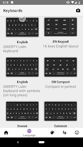 screenshot of AnySoftKeyboard version Varies with device