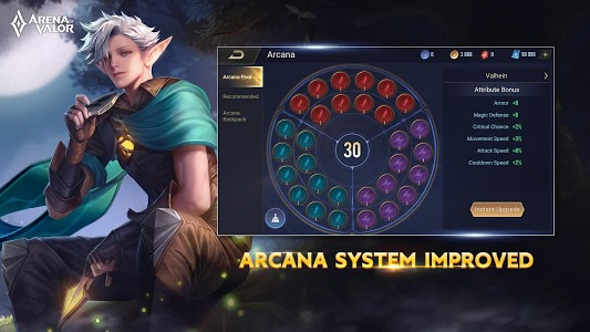 screenshot of Arena of Valor: 5v5 Arena Game version 1.34.1.10