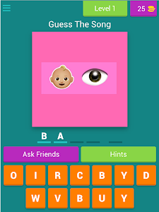 screenshot of Ariana Grande - Emoji Quiz version 3.1.8z