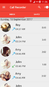 screenshot of Automatic Call Recorder version 1.0.3