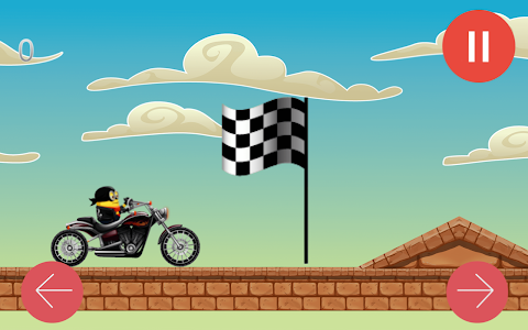 screenshot of Banana Bike Racer version 1.0