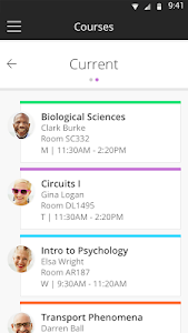 screenshot of Blackboard version 4.4.0