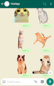 screenshot of Best Cat Stickers for Chat WAStickerApps version 1.7