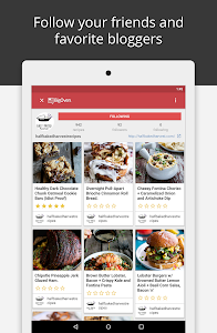 screenshot of BigOven Recipes, Meal Planner, Grocery List & More version 5.8.4