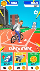 screenshot of Bike Hop: Be a Crazy BMX Rider! version 1.0.46