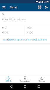 screenshot of Bitcoin Wallet version 6.5.0