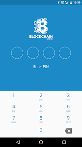 screenshot of Bitcoin Wallet version 6.1.22