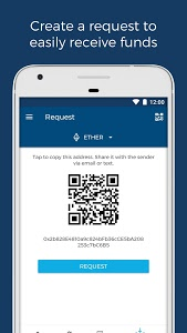 screenshot of Blockchain Wallet. Bitcoin, Bitcoin Cash, Ethereum version 6.13.0