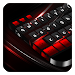 Black Red Keyboard