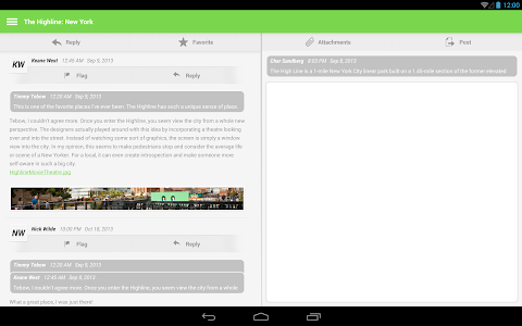 screenshot of Mobile Learn™ version 4.1.4
