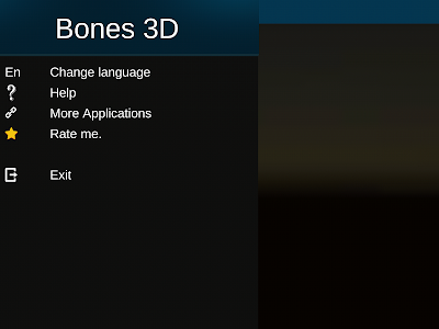 screenshot of Osseous System in 3D (Anatomy) version 2.0.10