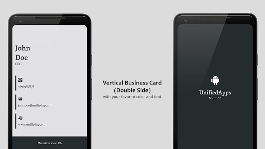 screenshot of Business Card Maker version 3.1.6