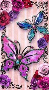 screenshot of Butterfly Live Wallpaper Trial version 1.0.0