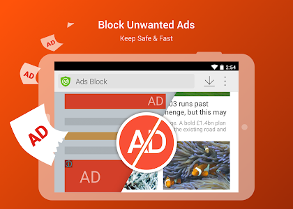 screenshot of CM Browser - Ad Blocker , Fast Download , Privacy version 5.22.21.0051