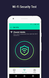 screenshot of CM Security Open VPN - Free, fast unlimited proxy version 1.6.3