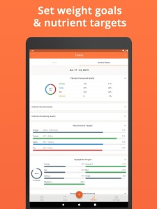 screenshot of Cronometer – Nutrition Tracker version 3.4.3