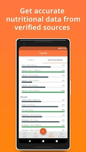 screenshot of Cronometer – Nutrition Tracker version Varies with device