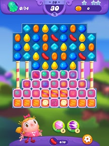 screenshot of Candy Crush Friends Saga version 1.36.5