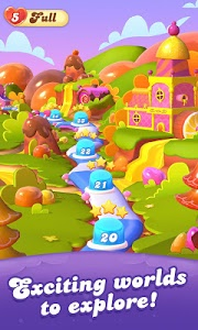 screenshot of Candy Crush Friends Saga version 1.15.12