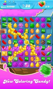 screenshot of Candy Crush Soda Saga version 1.81.10