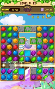 screenshot of Candy Frenzy version 11.0.3925