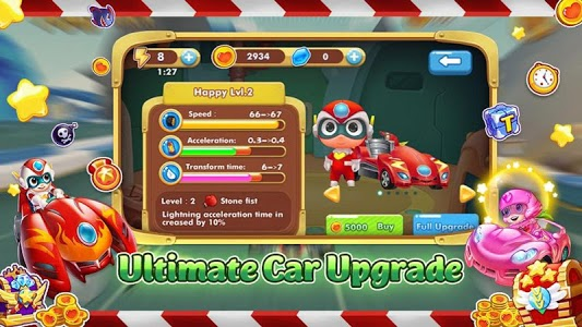 screenshot of Car Transform Racing - SuperMan version 1.0.2