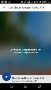 screenshot of Caribbean Gospel Radio FM version 5.0.12