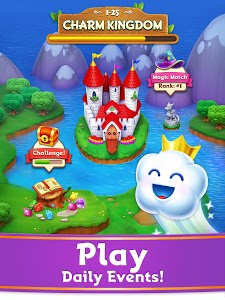 screenshot of Charm King - Relaxing Puzzle Quest version 7.4.0