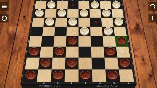 screenshot of Checkers version 4.3.1
