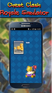 screenshot of Chest Clash Royal version 1.0
