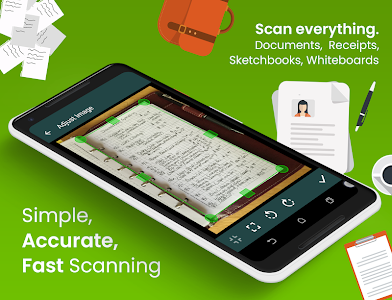 screenshot of Clear Scan: Free Document Scanner App,PDF Scanning version 4.0.0
