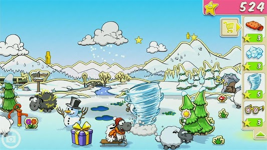 screenshot of Clouds & Sheep version 1.10.3