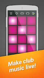 screenshot of Club Drum Pad Machine version 1.0.7