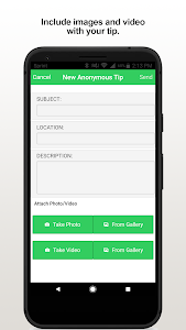 screenshot of CoffeeCo Tips version 2