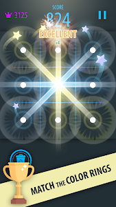 screenshot of Color Rings Puzzle Free version 105